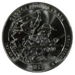 2017 George Rogers Clark (IN) America the Beautiful 5 Ounce Silver Quarter uncirculated for sale reverse