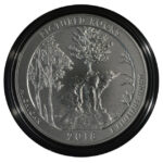 2018 Pictured Rocks (MI) America the Beautiful 5 Ounce Silver Quarter burnished for sale reverse