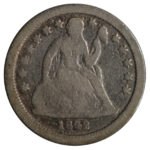 1842 O Liberty Seated Dime good for sale w1580 obverse