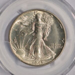 Close up 1943 S Walking Half Dollar MS64 PCGS 6620.64-33490418 for sale obverse
