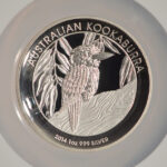 Close up Australia 2014 P $1 Kookaburra High Relief PF69 Ultra Cameo NGC 3866738-246 for sale obverse