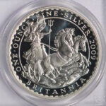 Close up Great Britain 2009 2 Pound Britannia PR69 DCAM PCGS 412495.69-20952332 for sale obverse