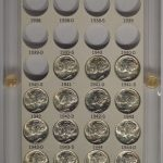 1941-1945 Mercury Dime Short Set of 15 bu for sale obverse