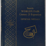 1962 Seattle World's Fair Century 21 Exposition Official Silver Medals for sale cover