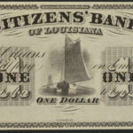 1850's Citizens' Bank of Louisiana set of 3 $1, $2, $3 Remainder Notes ch cu for sale $1 face