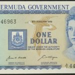 Bermuda 1970 February 8 $1 ch cu for sale 446963 face