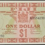Fiji 1974 $1 Gem cu for sale 3554230 face