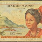 French Antilles 1964 10 Francs P-8a for sale 35638 face