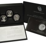 2017 American Liberty 225th Anniversary Silver 4 Medal Set for sale box