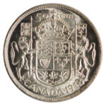 Canada 1942 50 cents ms63 for sale F276 rev