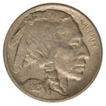 1913 Buffalo Nickel Type 1 au for sale w1724 obverse