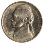 1950 Jefferson Nickel pf64 for sale w1773 obverse