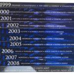 11 Different United States Statehood Quarter Proof Sets 1999 - 2009 for sale boxes