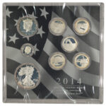 2014 United States Mint Limited Edition Silver Proof Set for sale obverse
