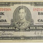 Canada 1937 $10 Note P-61b vg td8216568 for sale face