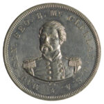1864 George McClellan Presidential Campaign Medal ef for sale e92 obverse