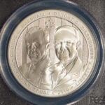 Close up 2013 W Five Star Generals Commemorative Dollar MS69 PCGS 517652.69-27565394 for sale obverse