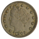 1902 Liberty Nickel ef for sale w1899 obverse
